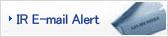 IR E-mail Alert